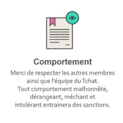 Règles du Tchat Gratuit de Rencontre-Affinite.eu